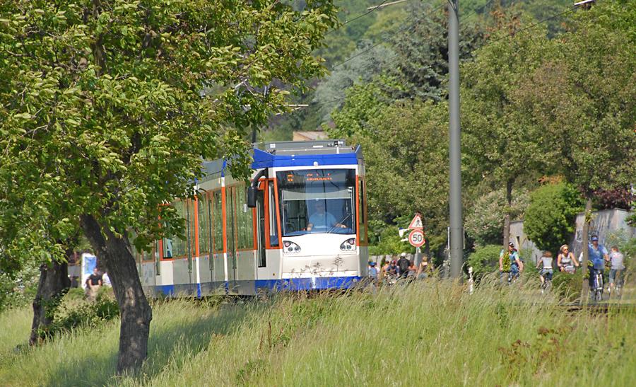 Ein Ausflug an die Bergstraße lohnt sich - Die Hörtour Linie 8 bietet dazu viele Informationen. Foto: HEAG mobilo